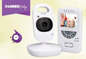 "Lorex BB2411 2.4"" Sweet Peek Video Baby Monitor Review"