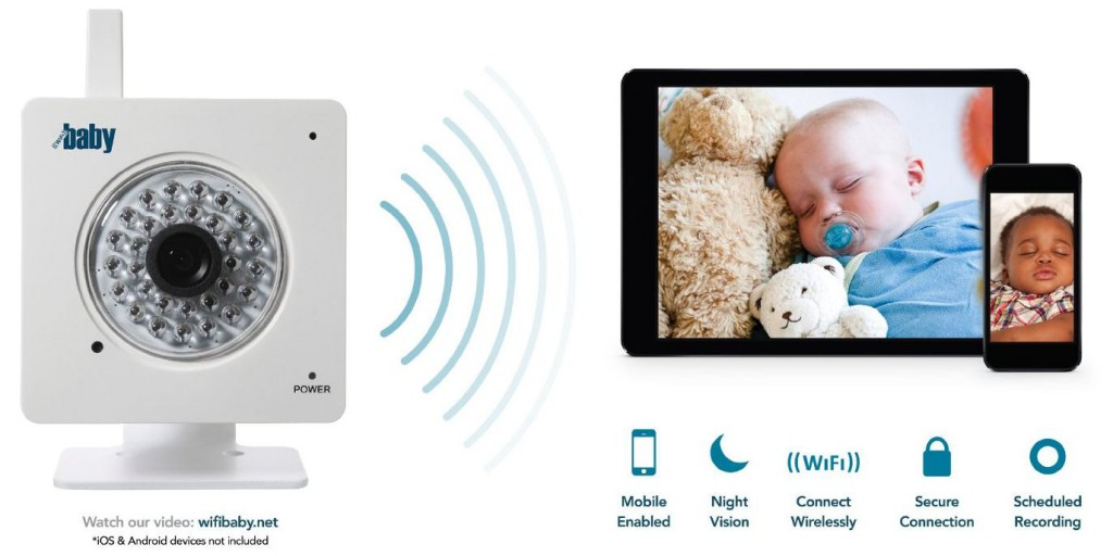 wifi baby 3 wireless smartphone baby monitor review. Black Bedroom Furniture Sets. Home Design Ideas
